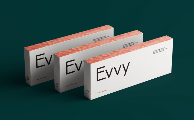 Evvy vaginal microbiome test boxes