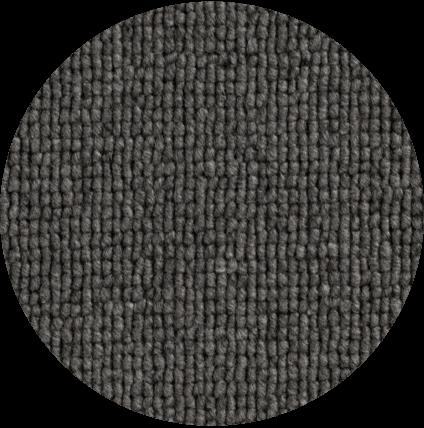 loop pile carpet finish - dark grey