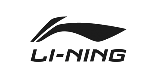 Trusted by brands such as Li-Ning.