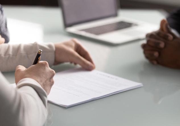 Writing attorney