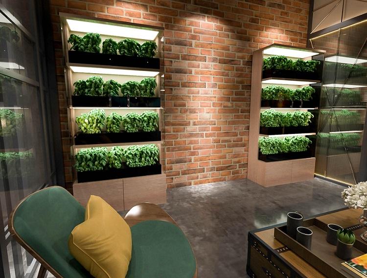 Evergreen valmistaa viljelyalustoja sisätiloihin.