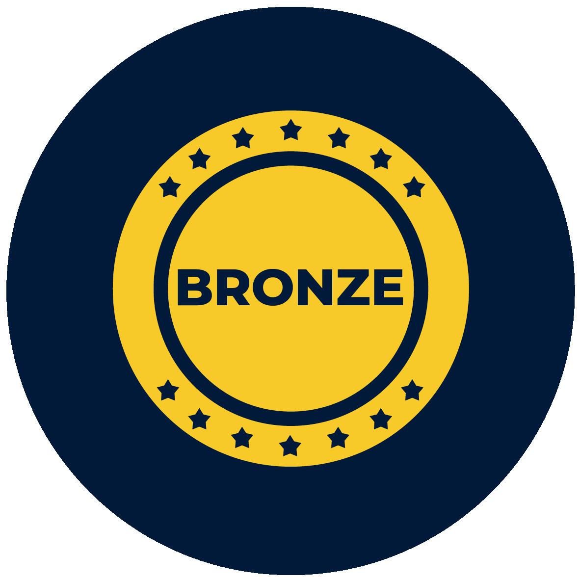bronze coin icon