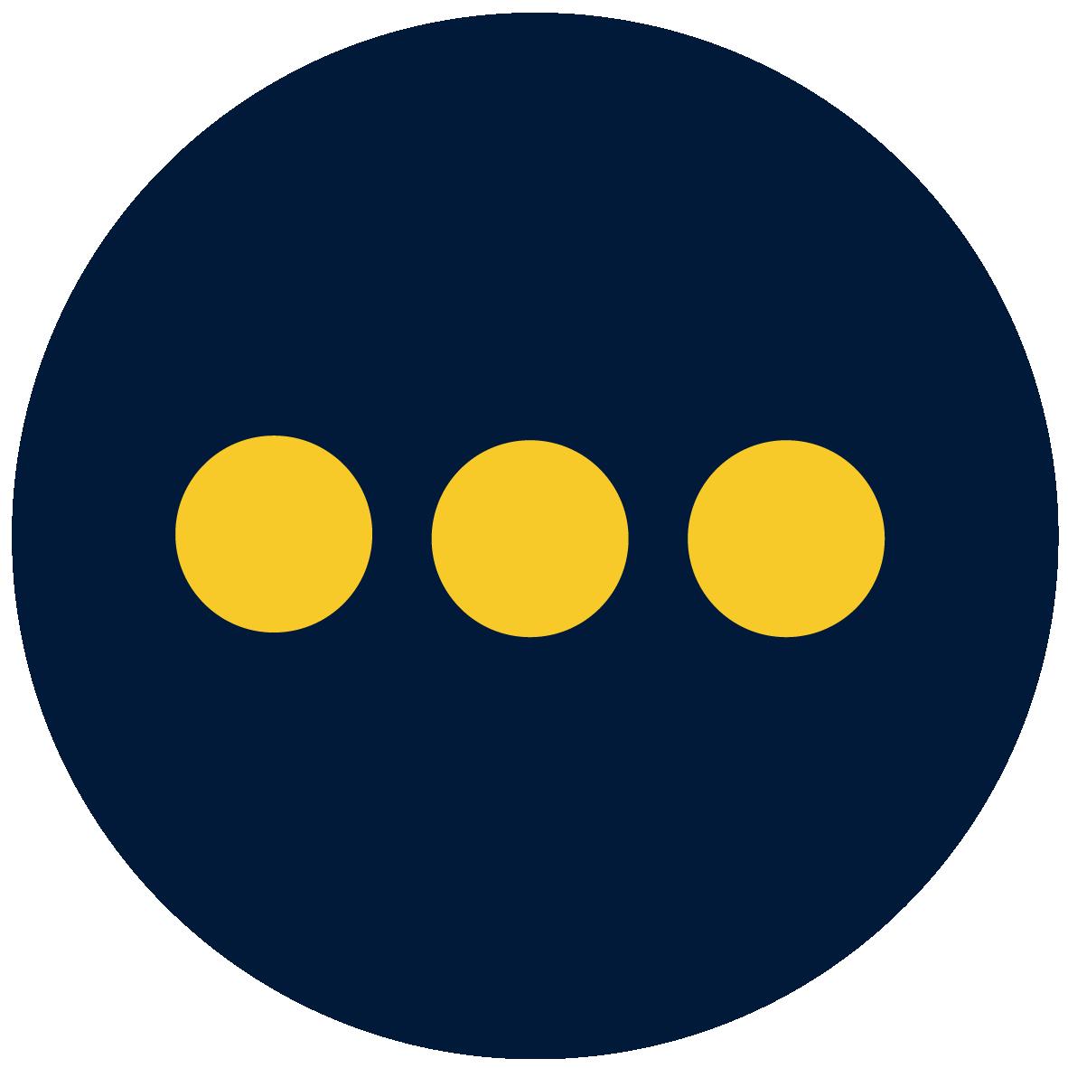 three dots icon