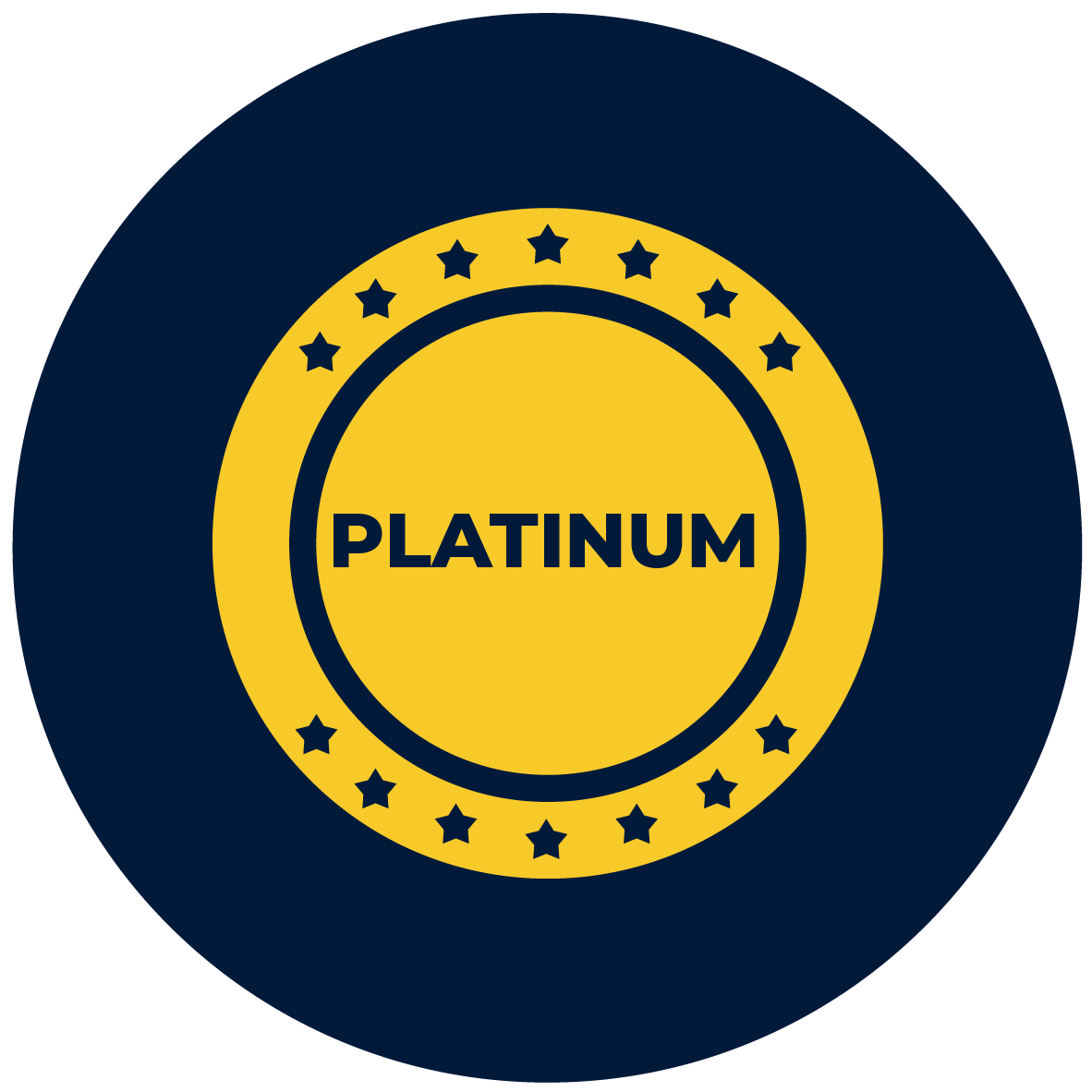 platinum coin icon