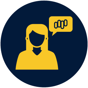 the bunch customer service icon