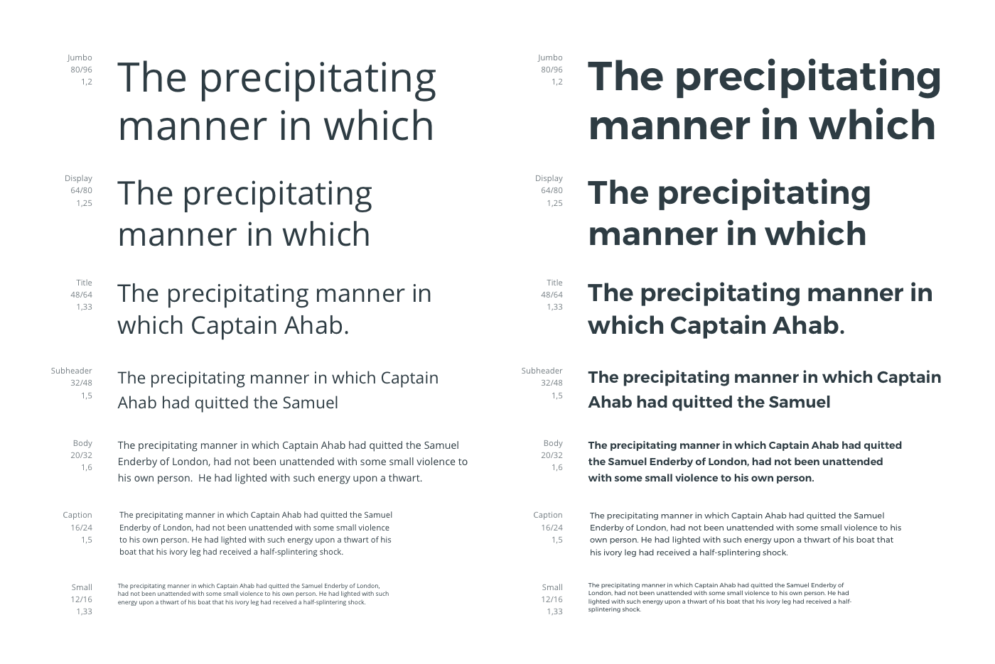 Montserrat for headings and Open Sans for body text.
