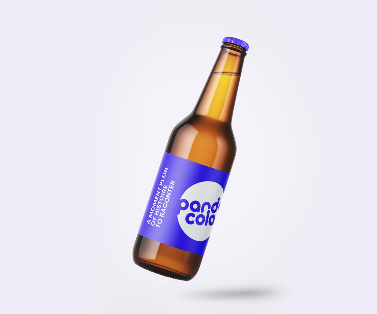Bouteille de bière personnalisée  | Pandacola
