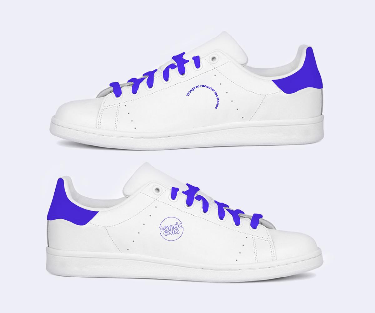 Baskets Sneakers personnalisées  | Pandacola