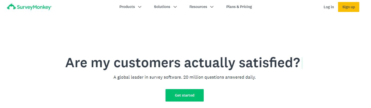 Survey Monkey - Top 10 Marketing Automation Tools