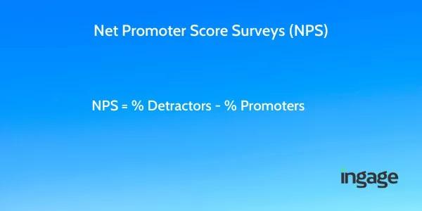 Net Promoter Score Survey (NPS) Formula