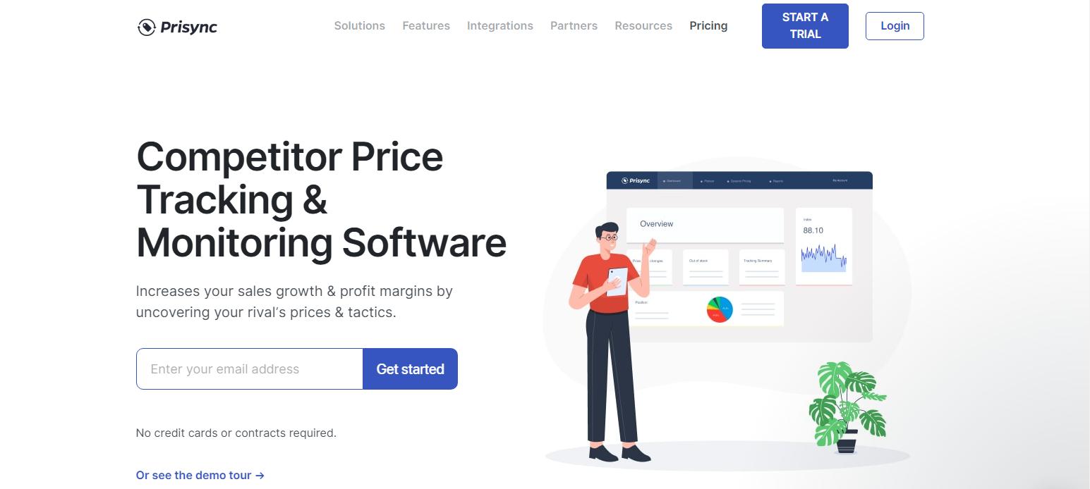 Prisync - Top 10 Marketing Automation Tools