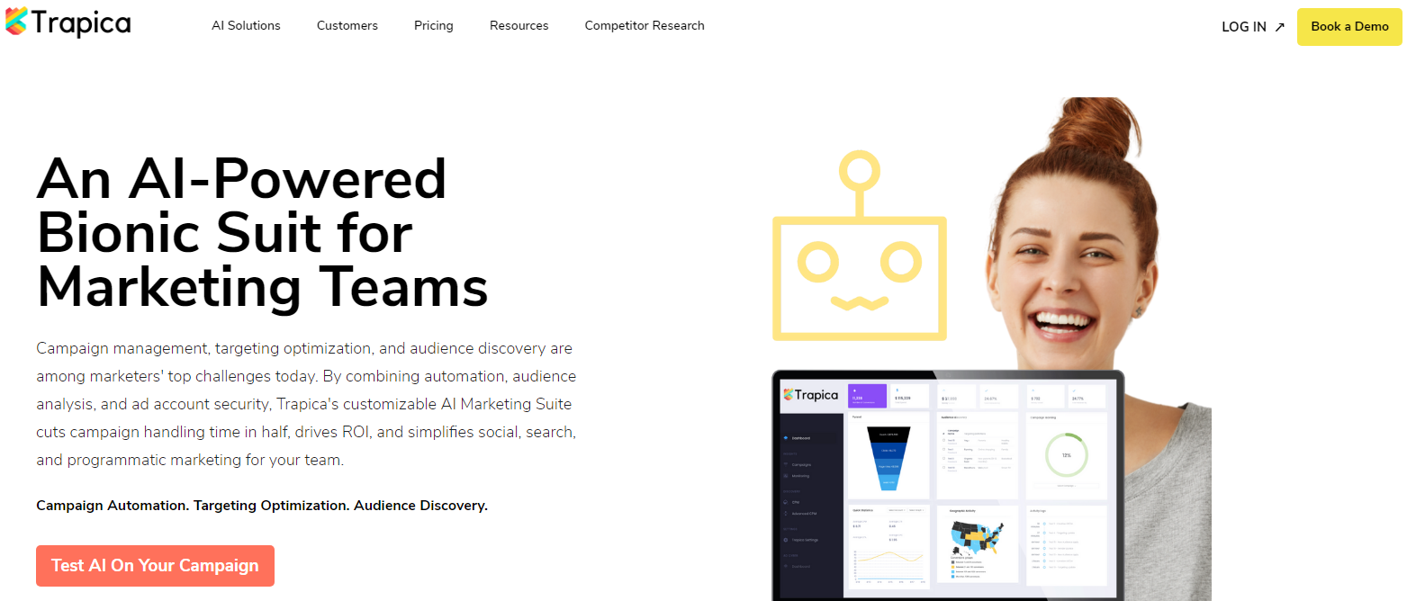 Trapica - Top 10 Marketing Automation Tools
