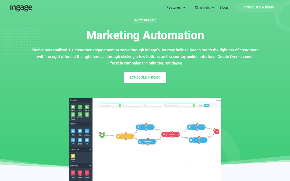 Best Marketing Automation Software in 2021 - Ingage
