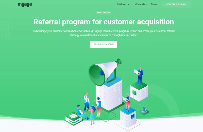 Ingage is the best referral program software
