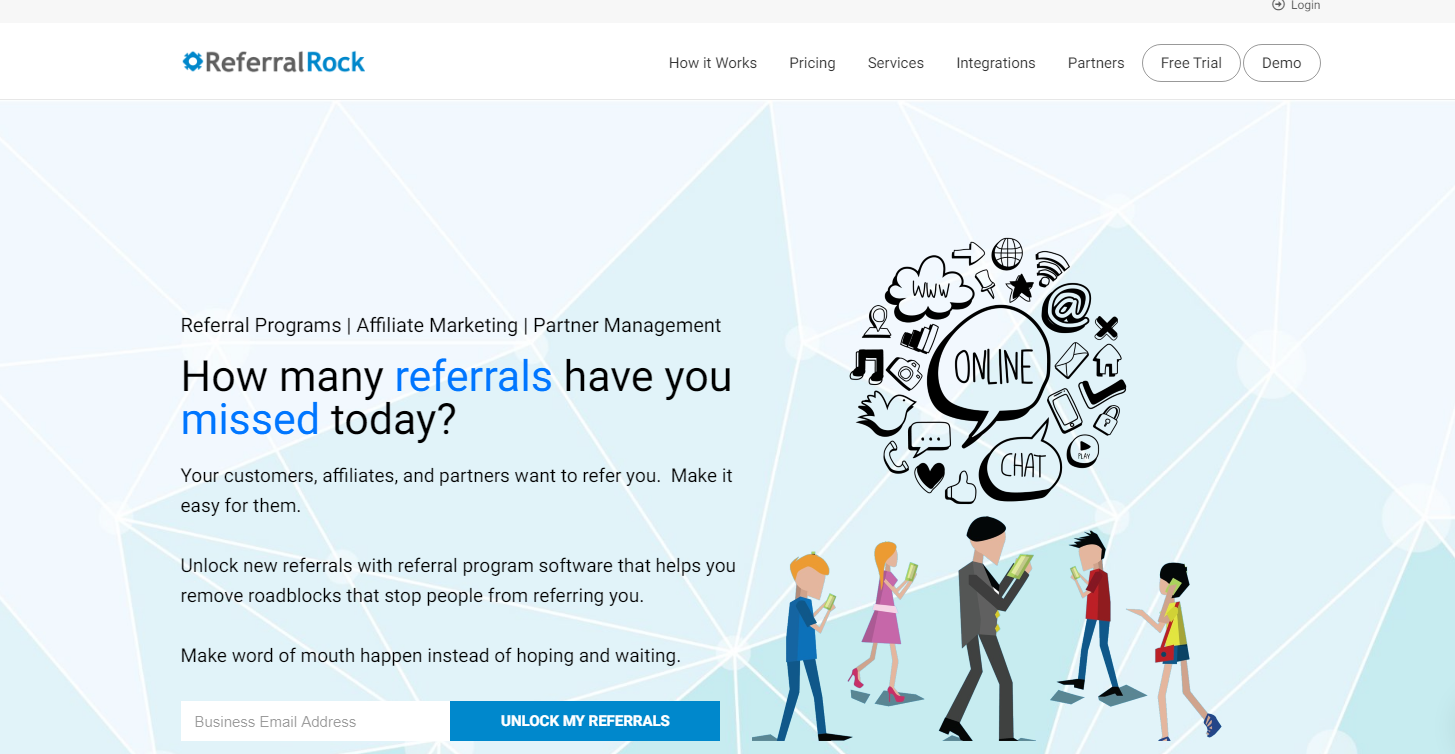 Referral Rock - Top 10 Marketing Automation Tools