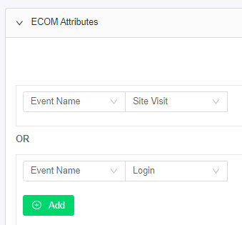eCommerce Site Visitor Status Segment