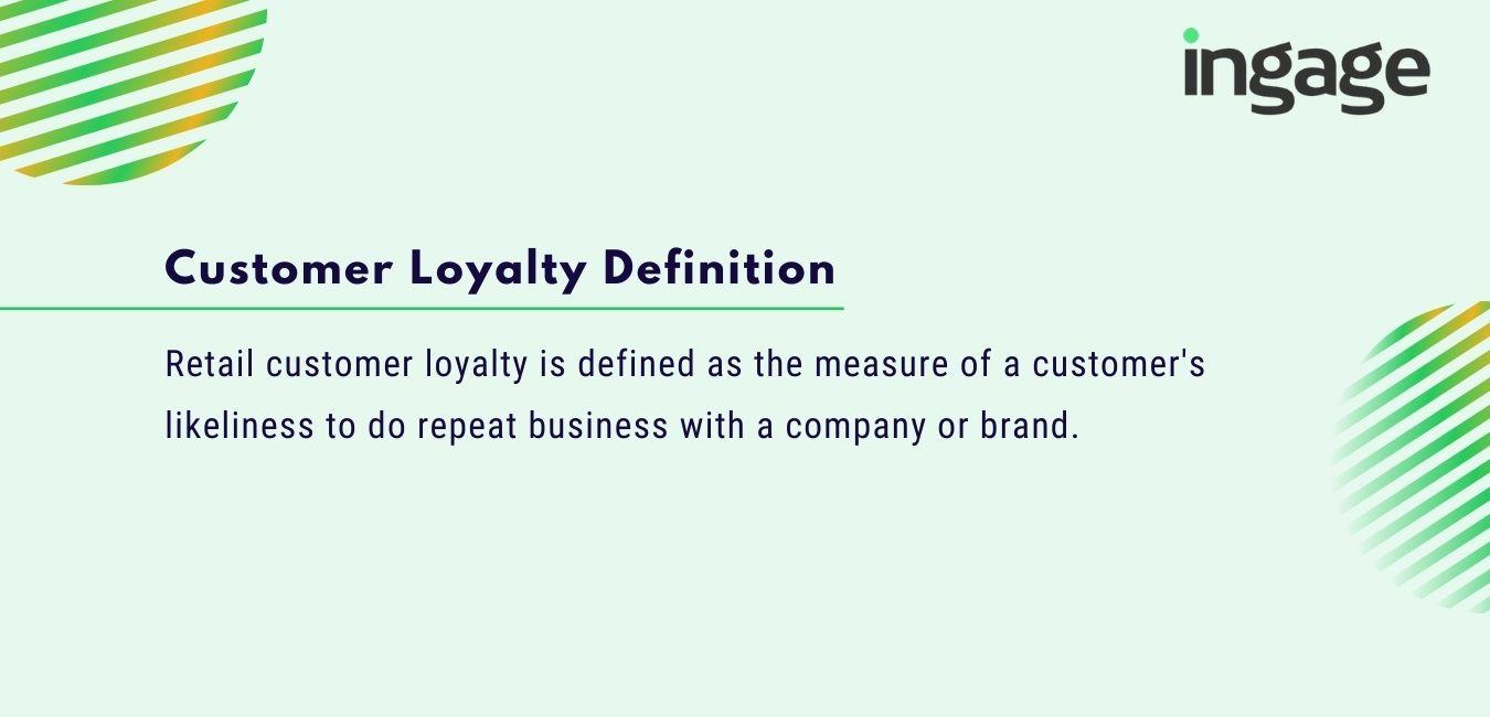 customer loyalty definition
