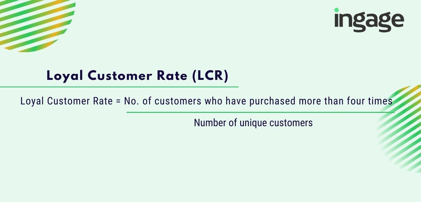 loyal customer rate