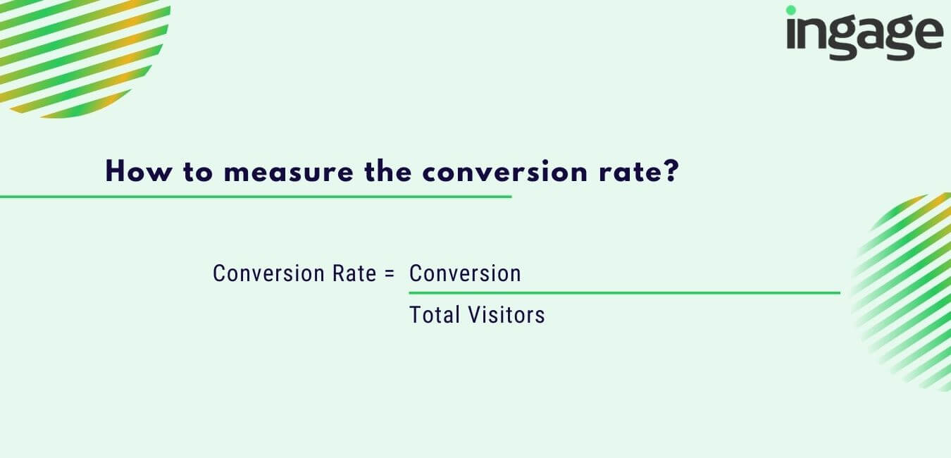 How to measure the conversion rate