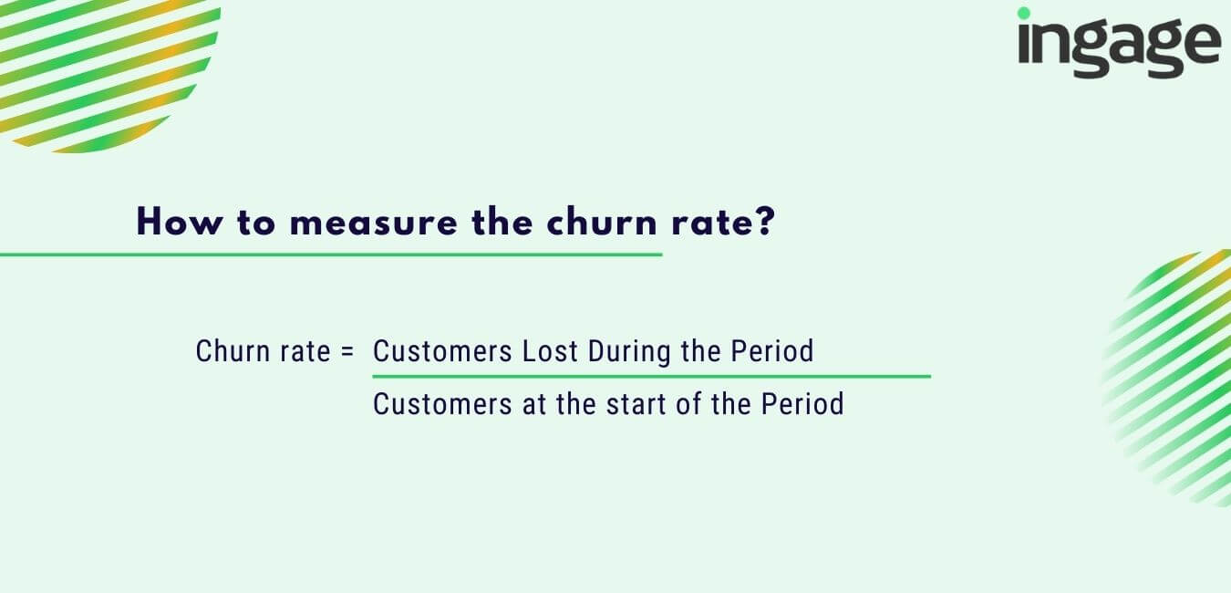 how to measure the churn rate