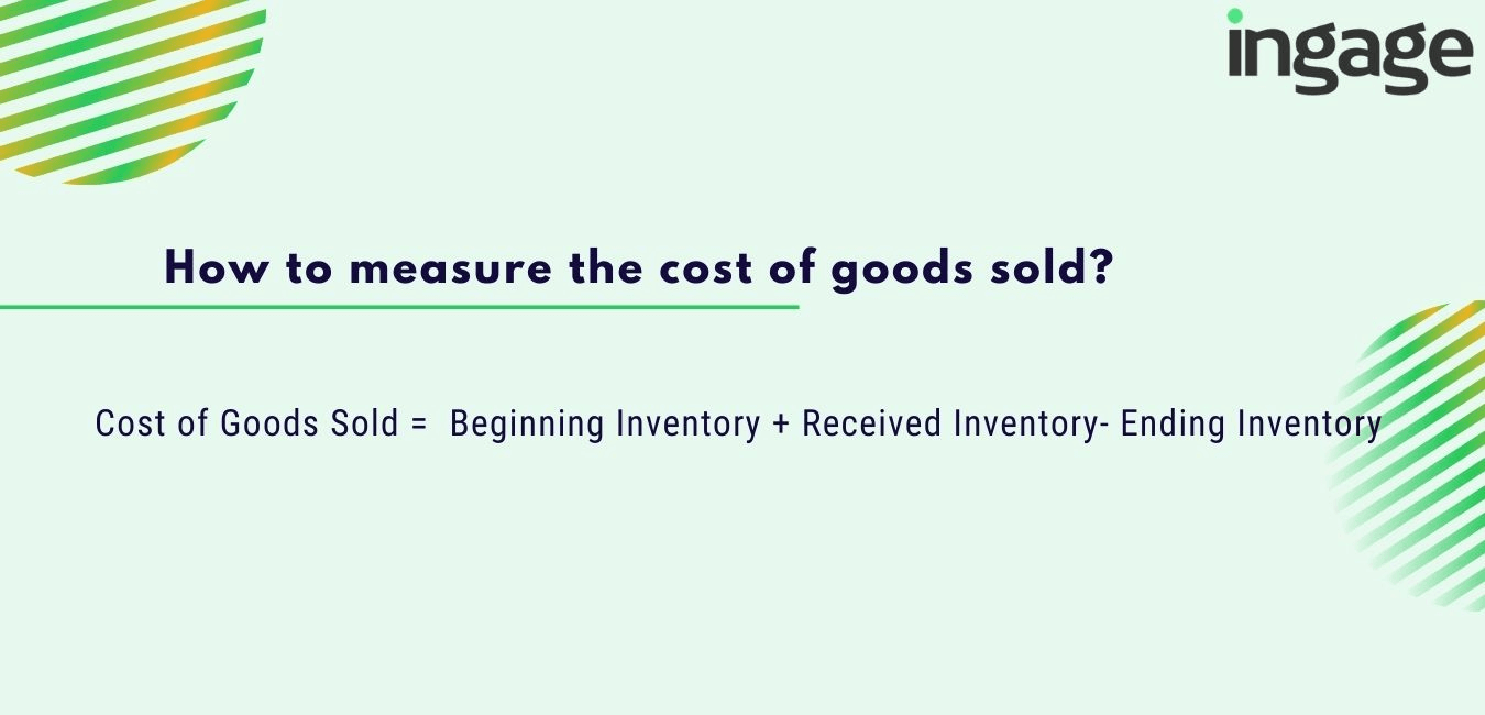 how to measure cost of goods sold