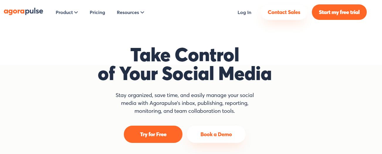 Cross Channel Marketing Tool for Social Media Platforms - AgoraPulse