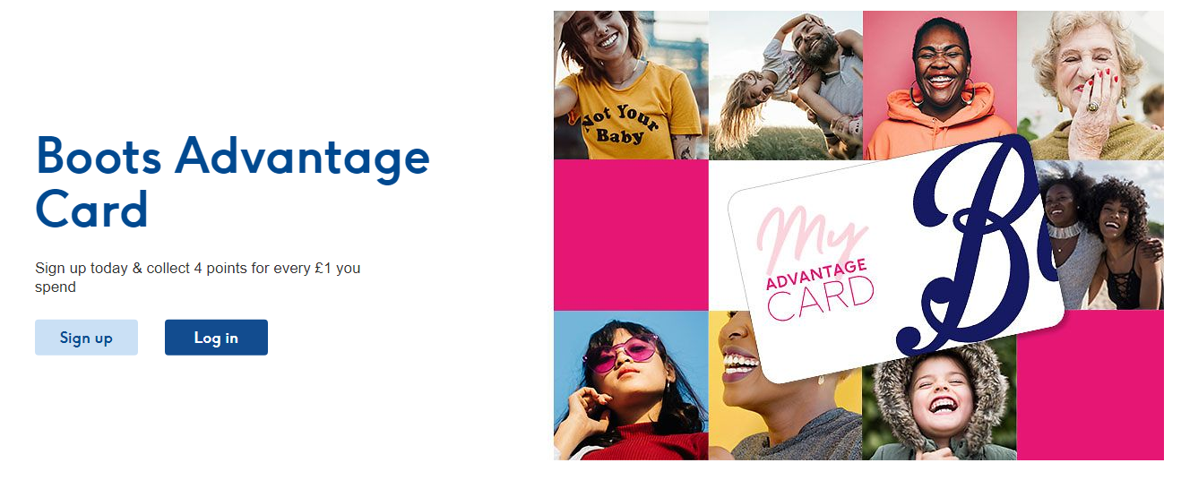 Boots - Health and beauty retailer - Spend loyalty program example
