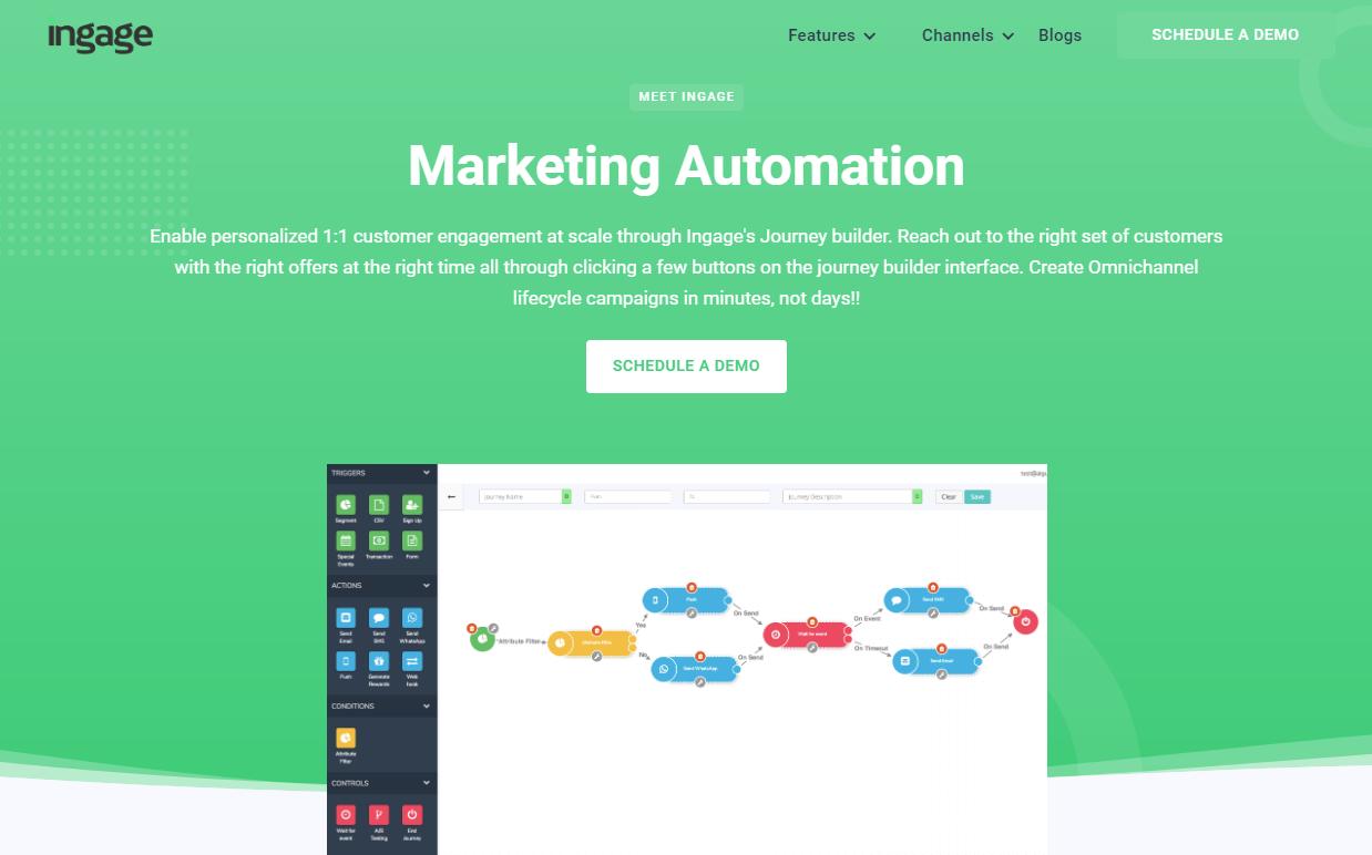 ingage marketing automation