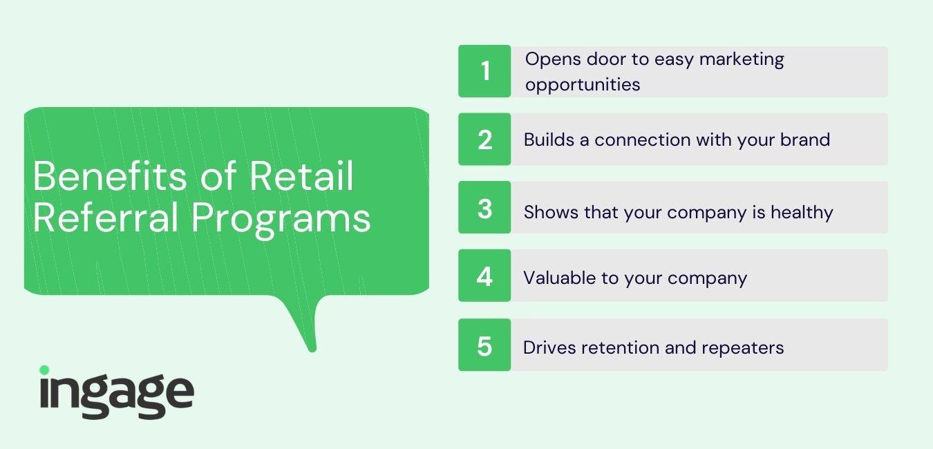 Benefits of Retail Referral Programs