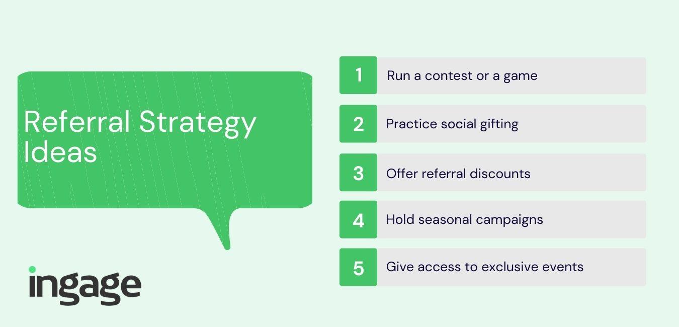 Referral Strategy Ideas