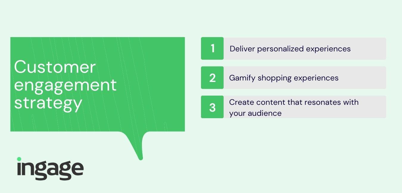 Customer engagement strategy
