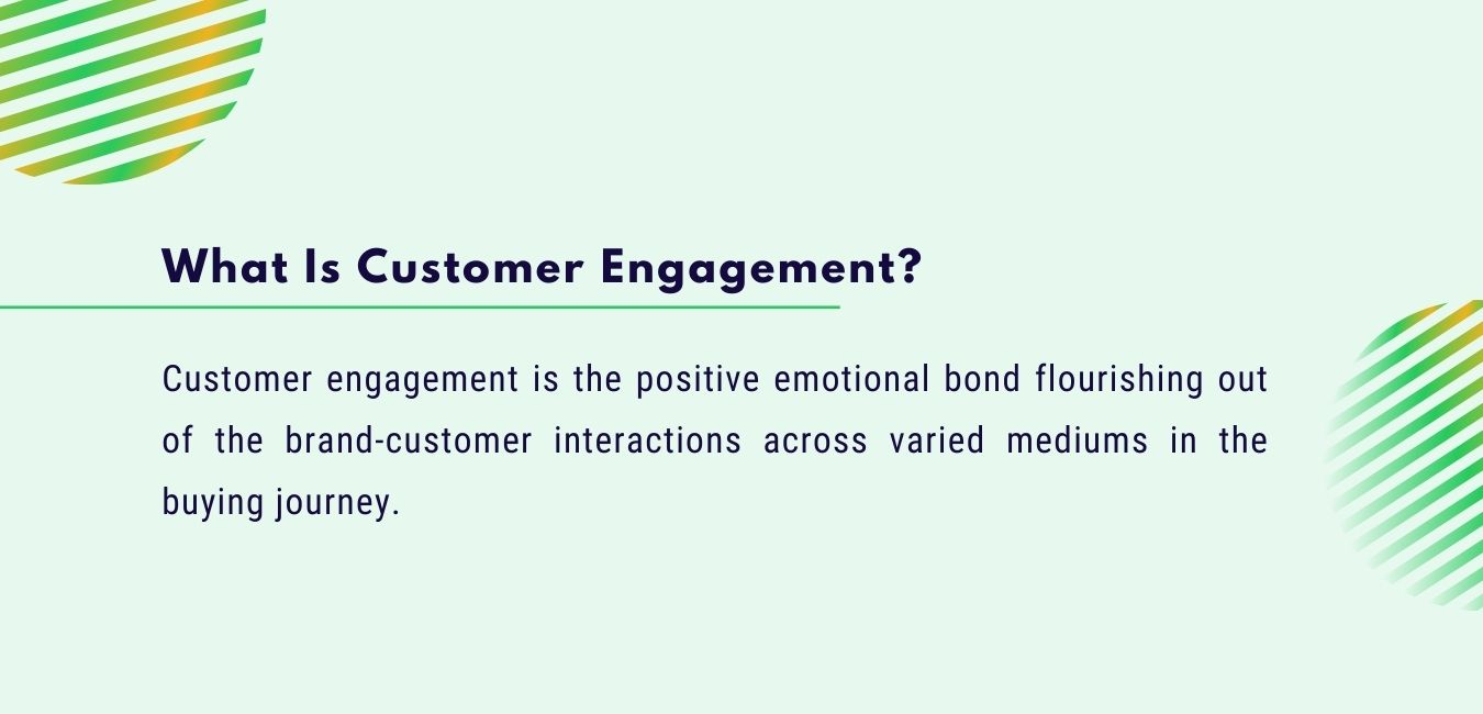 what is customer engagement definition