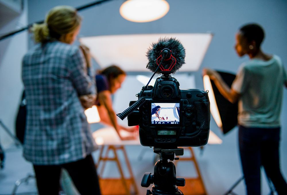 Creative agency offering photography and video production