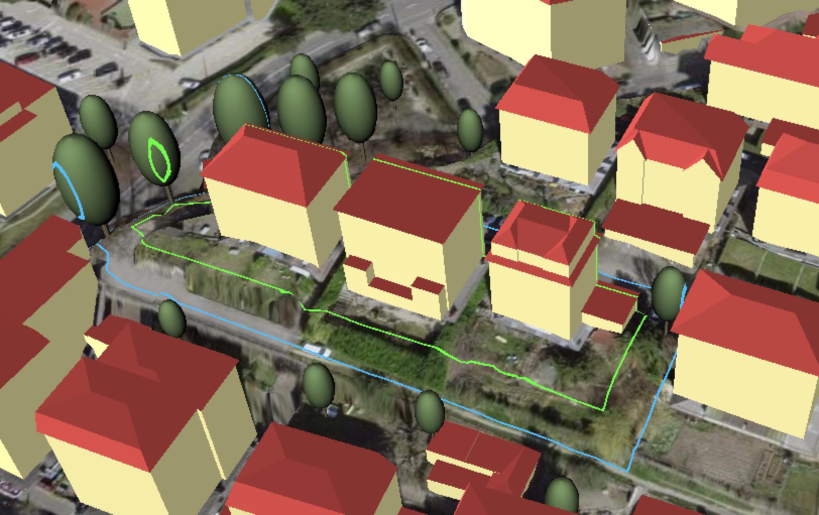 Map 3D regroupement parcellaire