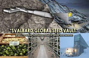 Camara de semillas de Svalbard