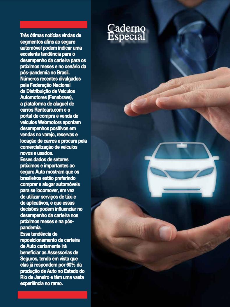 Seguro Auto: Tempo de retomada e de Reinvenção