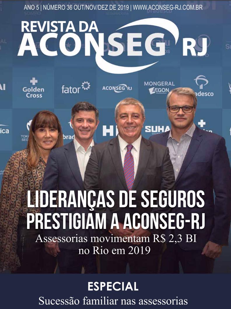 Lideranças do Seguro prestigiam a Aconseg-RJ