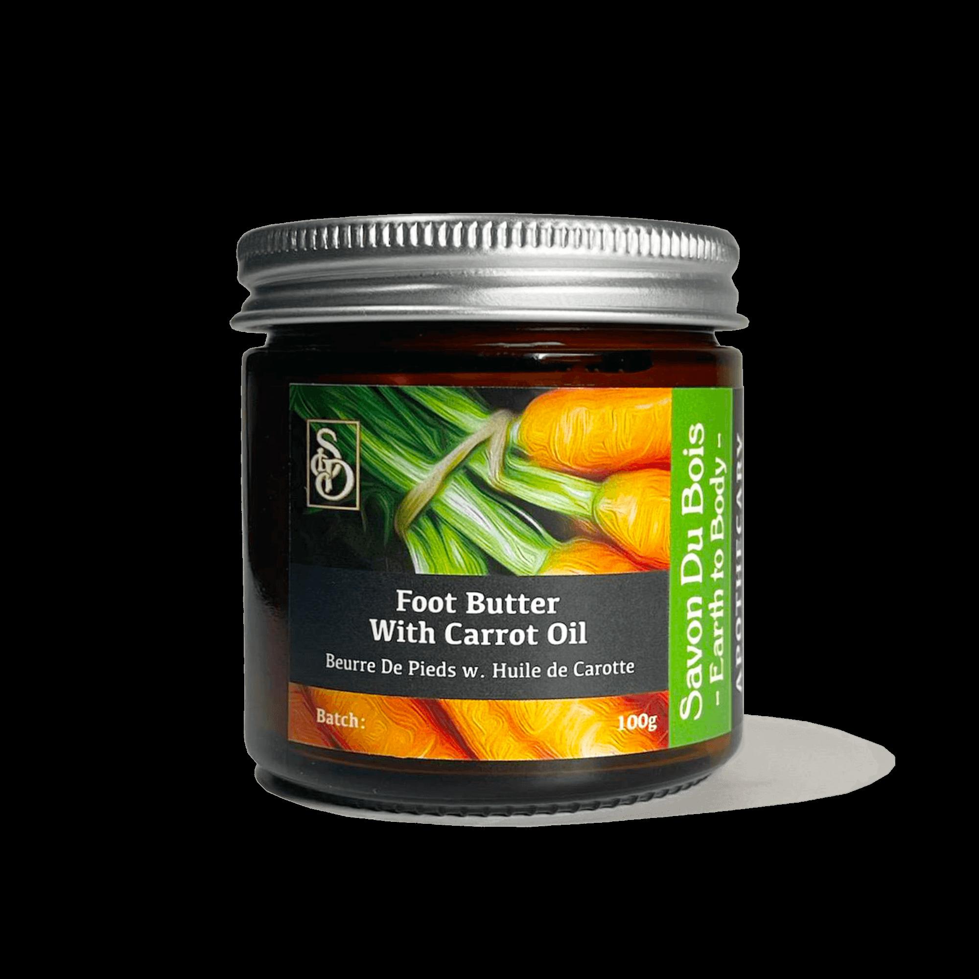 Whipped Foot Butter | Carrot Oil