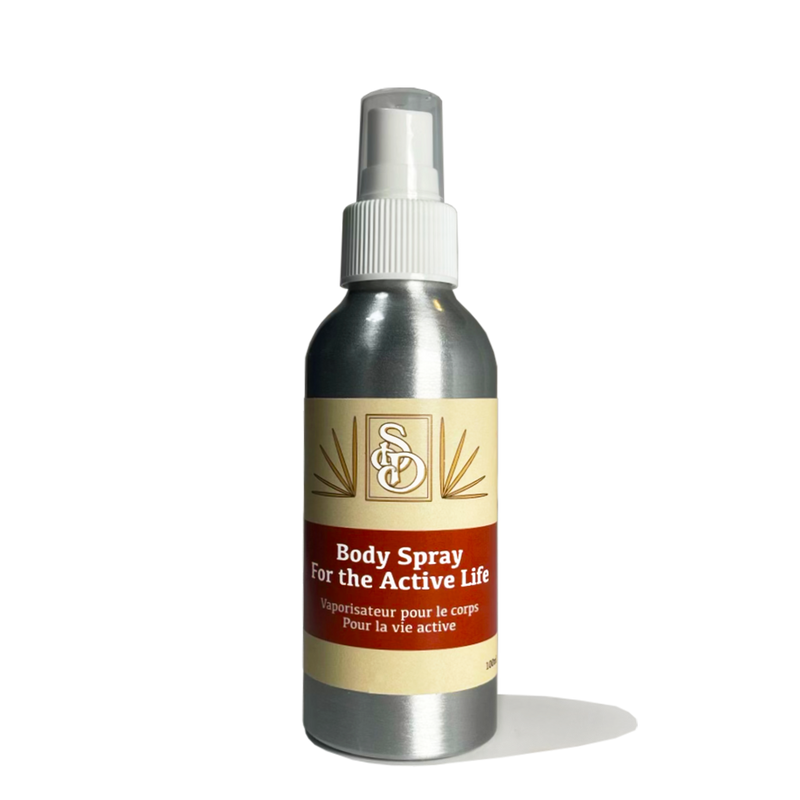 Body Spray for the Active Life