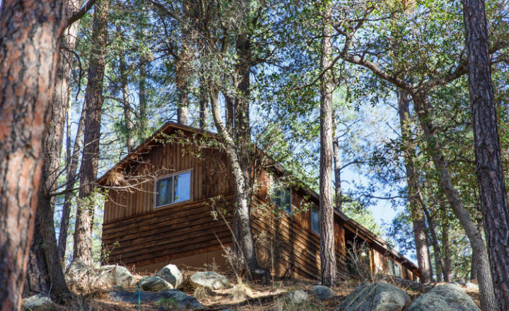 Cabin at Friendly Pines Camp
