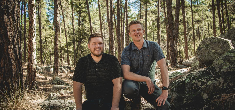 Group photo of Matt and JP