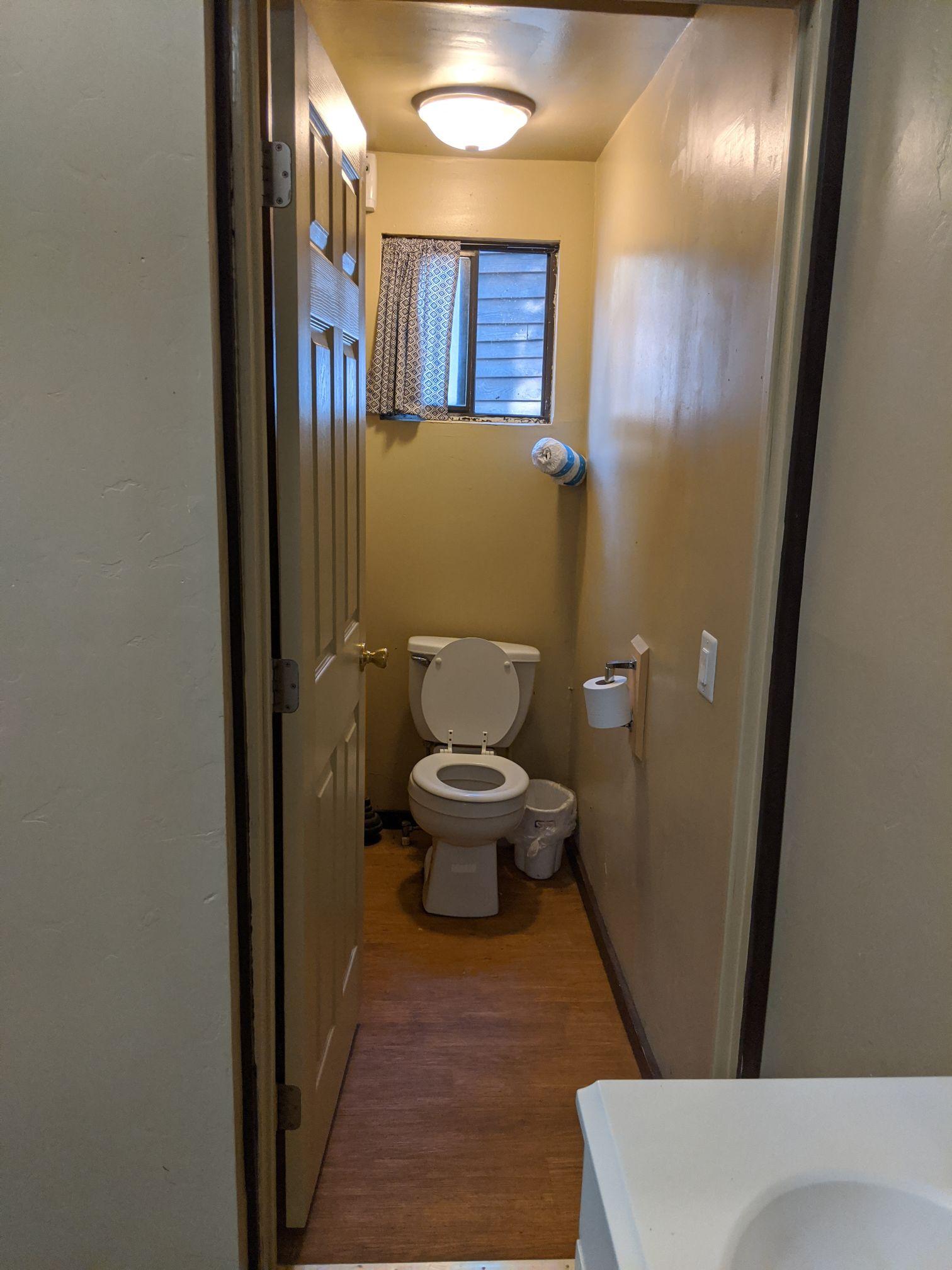 Friendly Pines toilet
