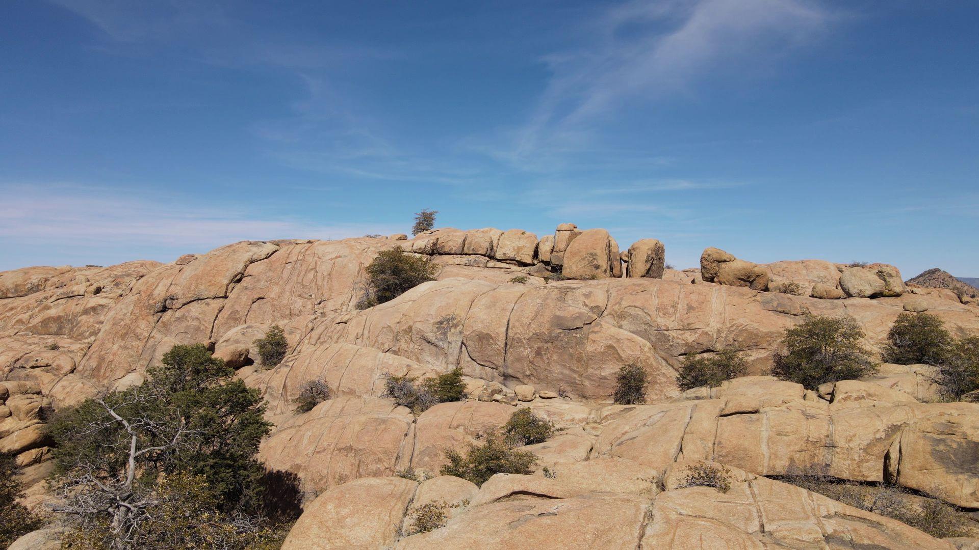 Scenery of Granite Dells