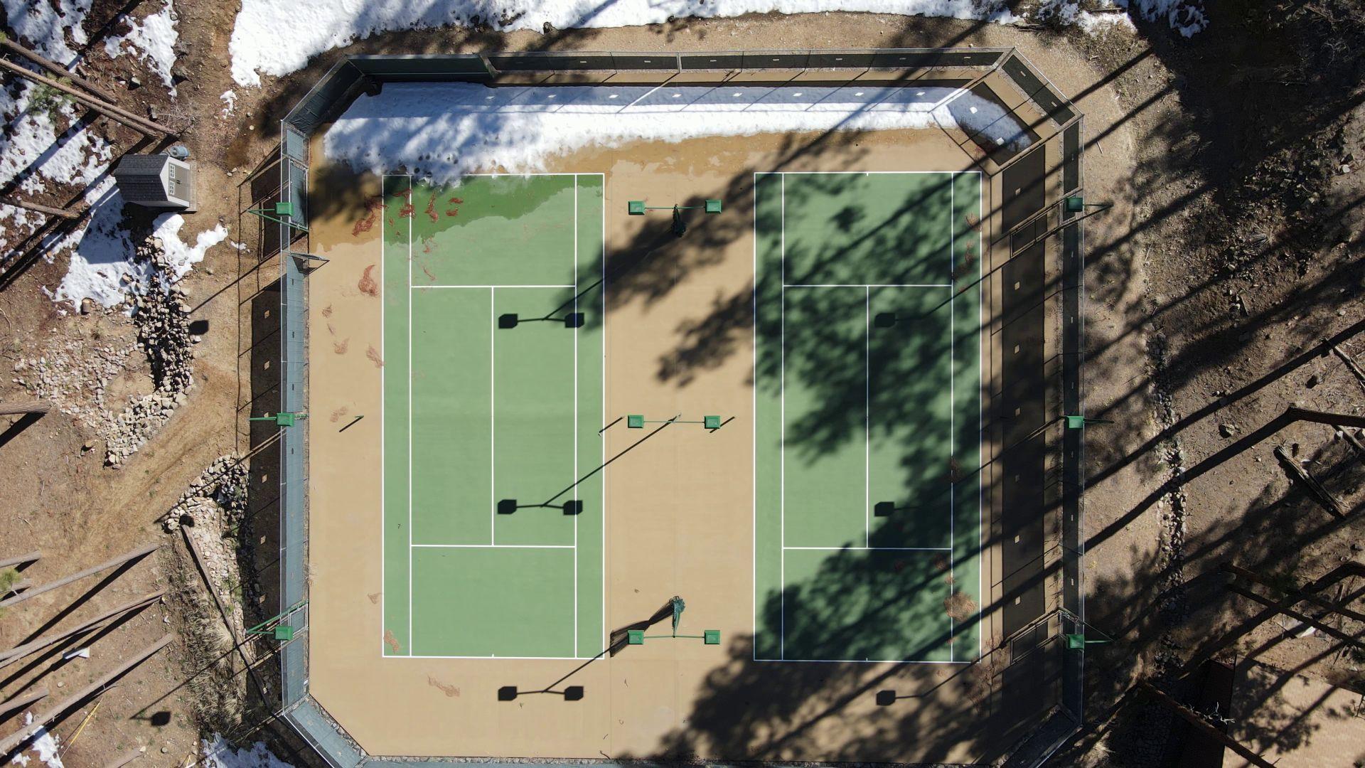 Tennis Courts at Camp Stein
