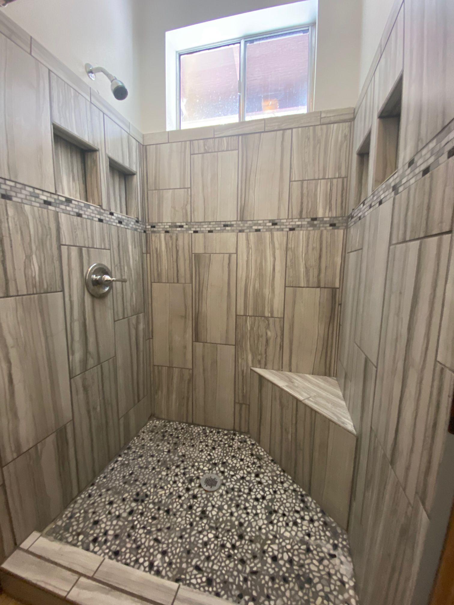 shower at camp stein