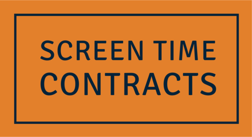 Screen Time Contracts