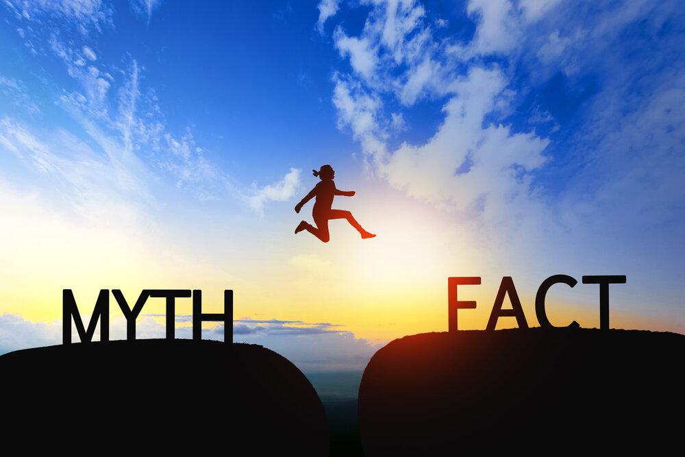Myth and fact illustration