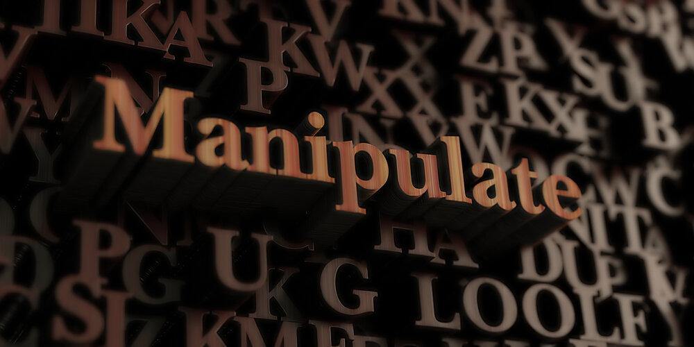 manipulate sign
