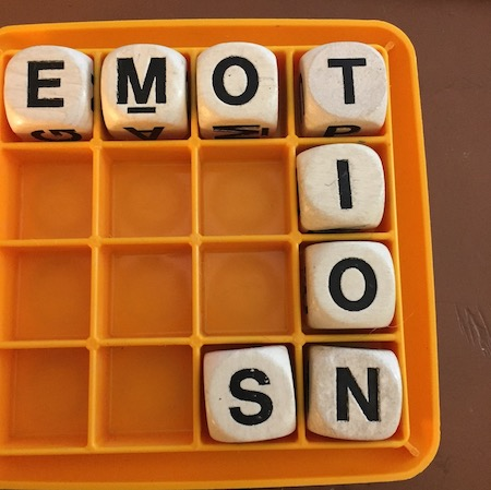 Boggle with word Emotions