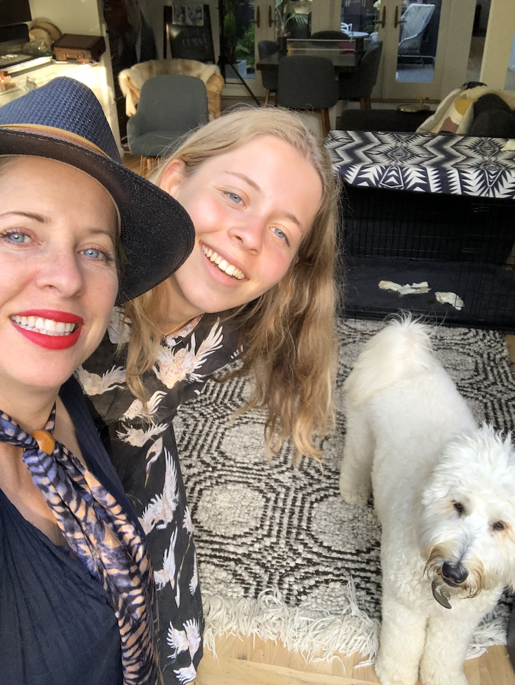 Tiffany Shlain and her Daughter